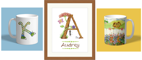 Cute Watercolor Art Prints