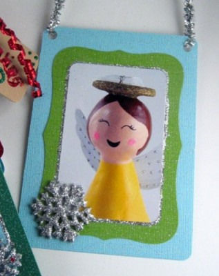 Cute handmade Christmas card