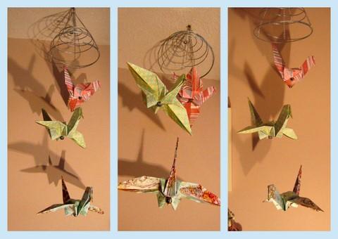 Origami Crane Mobile