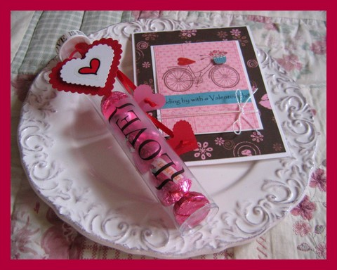 Valentine's Card and Treat Tube