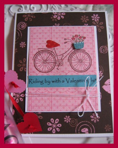 Bicycle Valentine's Card