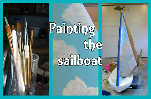 Painting the sailboat