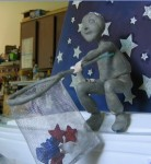 Star Catchin' Boy sculpture