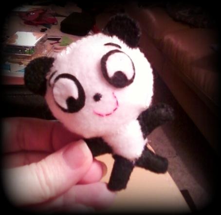 Mini panda pal