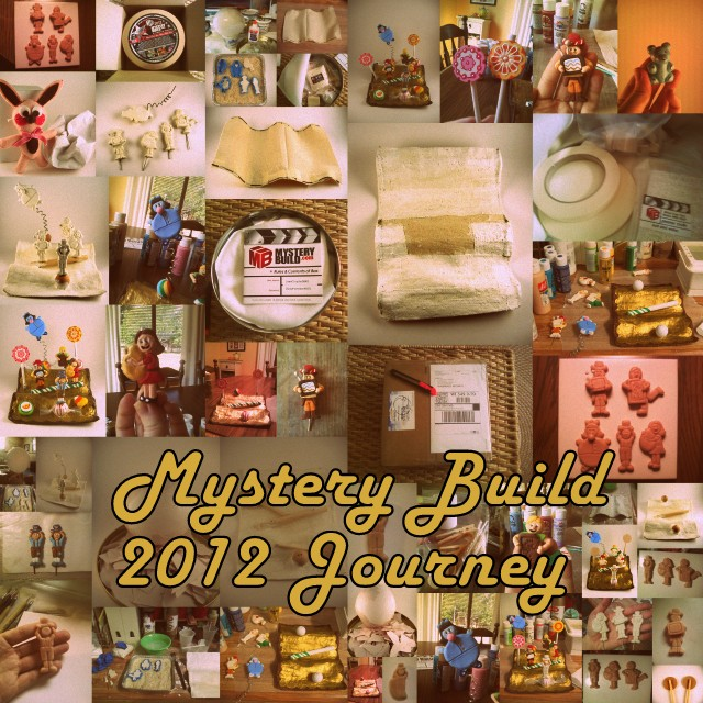 Mystery Build 2012 Journey photo collage