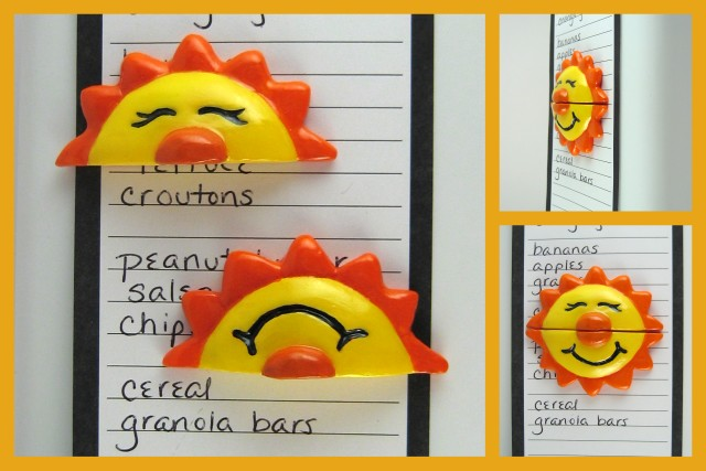 Happy Sun Fridge magnets