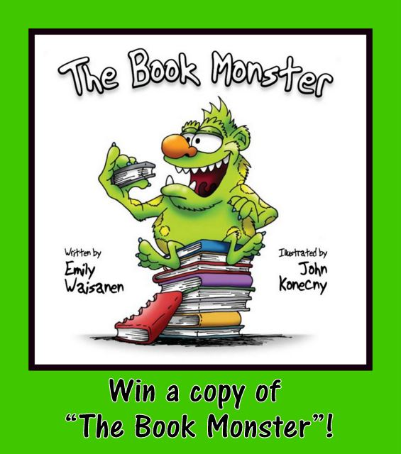 """The Book Monster"" by Emily Waisanen"