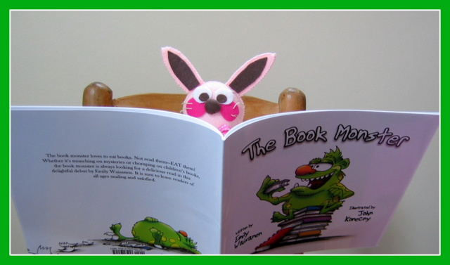 "Ralphie gives a book review on ""The Book Monster"""