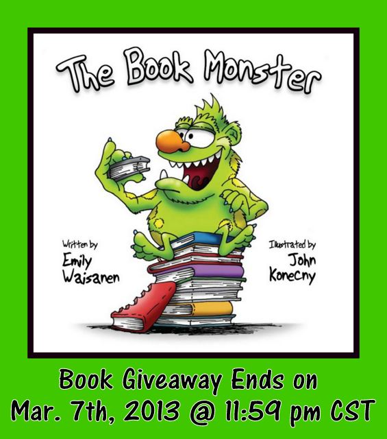 Book Monster Giveaway